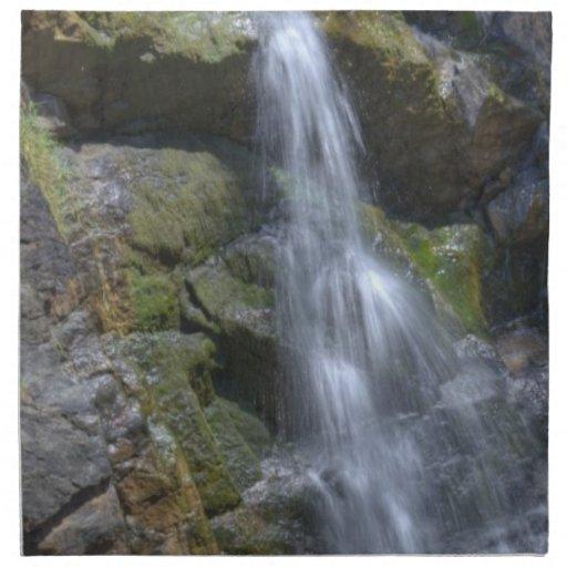 Cascada líquida servilletas