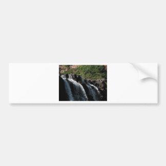 Cascada majestuosa - la grosella espinosa cae por  etiqueta de parachoque