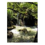 Cascada minúscula en Plitvicka Jezera Tarjetas Postales