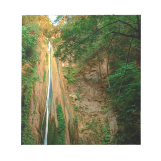 Cascada Nojoqui el condado de Santa Barbara Blocs De Notas