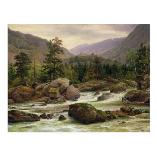 Cascada noruega, 1840 tarjetas postales