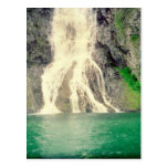 Cascada noruega 2 tarjetas postales