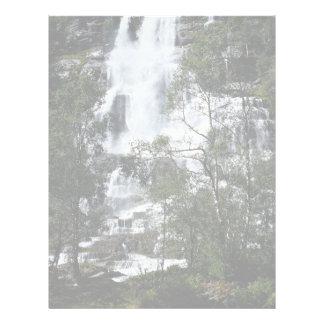 Cascada, Noruega Membrete Personalizado