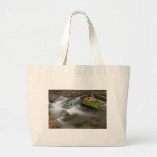 Cascada pacífica bolsa tela grande
