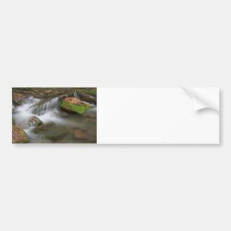 Cascada pacífica etiqueta de parachoque