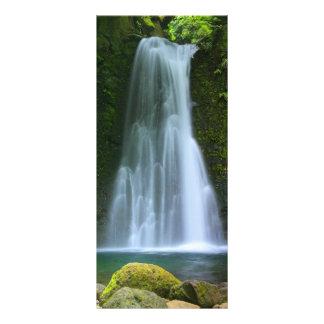 Cascada Plantilla De Lona