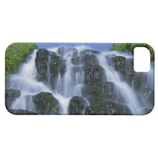 Cascada, Portree, isla de Skye, montañas, iPhone 5 Carcasa