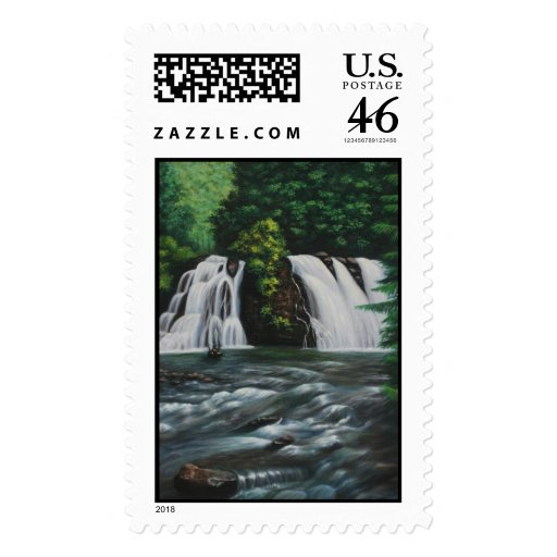 Cascada Postage Stamp