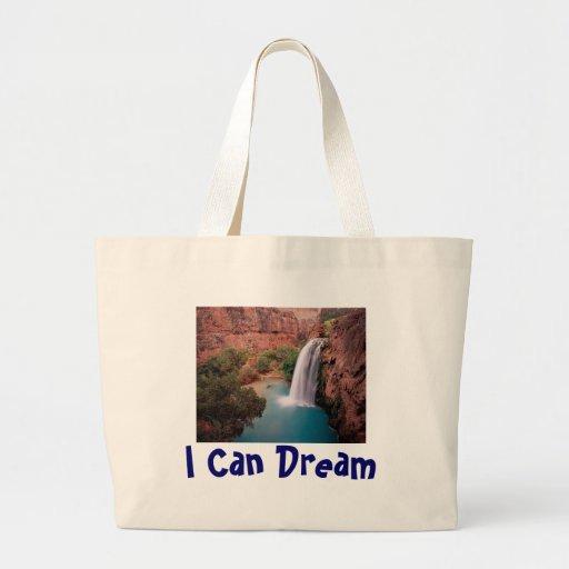 Cascada, puedo soñar bolsa de mano
