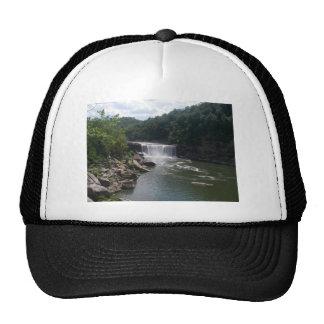Cascada y río gorras de camionero