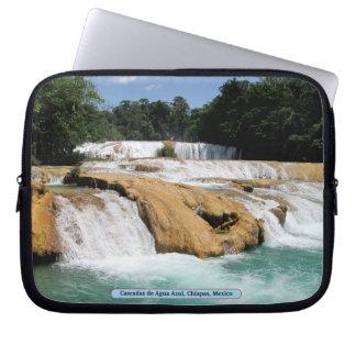 Cascadas de Agua Azul, Chiapas, México Manga Portátil