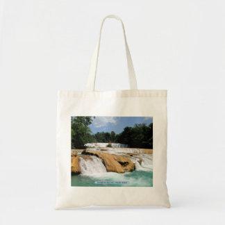 Cascadas de Agua Azul, Chiapas, Mexico Tote Bag