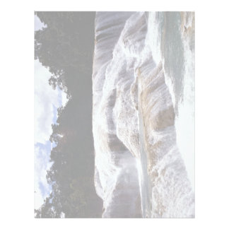 Cascadas de Azul del Agua, estado de Chiapas, Méxi Membrete Personalizado
