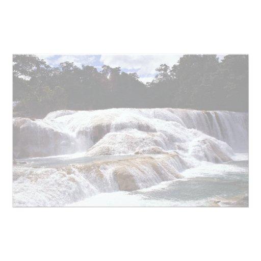 Cascadas de Azul del Agua, estado de Chiapas, Méxi Papeleria De Diseño