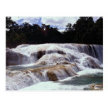 Cascadas de Azul del Agua, estado de Chiapas, Méxi Postales