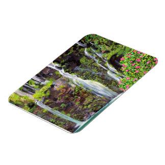 Cascadas de Hana en imán del premio de Maui