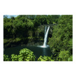 Cascadas de Hawaii Poster