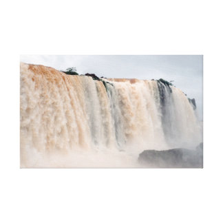 Cascadas de Iguazu Impresión De Lienzo