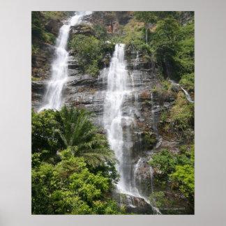 Cascadas de Kpalime. Togo central, África occident Póster