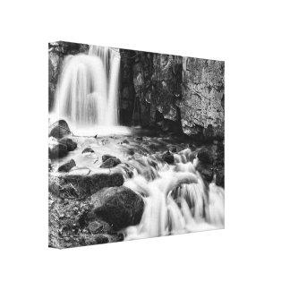 Cascadas de Lumsdale Lienzo Envuelto Para Galerías