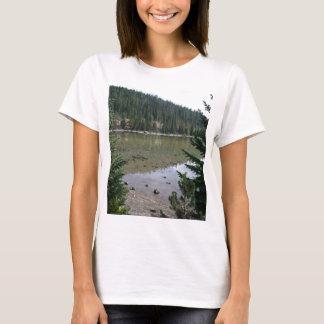 Cascadas de Oregon, lago devils Playera