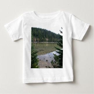 Cascadas de Oregon, lago devils Playera De Bebé