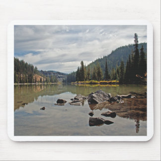 Cascadas de Oregon, lago devils Mouse Pad