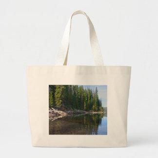 Cascadas del lago, Oregon Bolsas De Mano