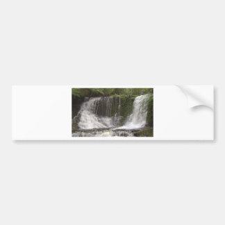 Cascadas del oasis en Tasmania al sur de Australia Pegatina Para Auto