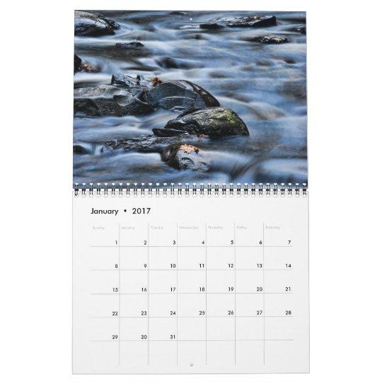 Cascadas del Poconos 2013 Calendarios De Pared