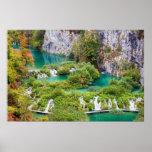 Cascadas en parque nacional de los lagos Plitvice Impresiones