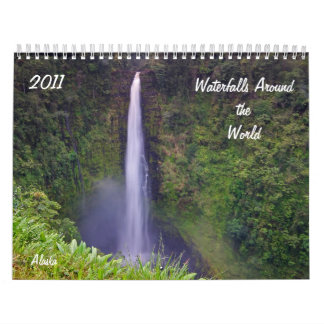 Cascadas en todo el mundo, 2011 calendarios