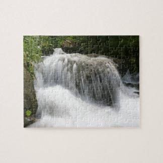 Cascadas - favorable foto rompecabezas