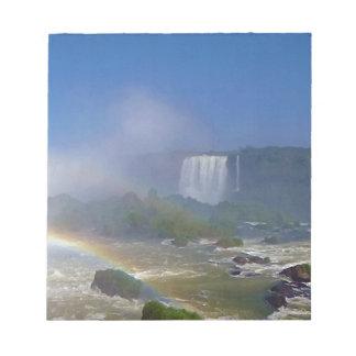Cascadas hermosas en el Brasil - las cataratas del Libretas Para Notas