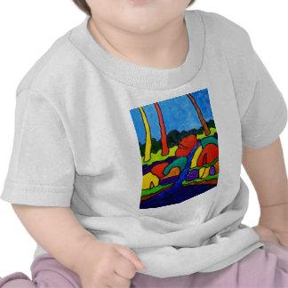 Cascadas resumidas A5 Camiseta