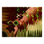 Cascade Abstract Art Posters