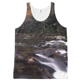 Cascade and Fall Colors All-Over Print Tank Top