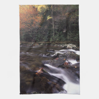 Cascade and Fall Colors Hand Towel