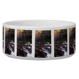 Cascade and Fall Colors Pet Food Bowls