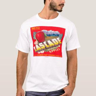 Cascade Apple Label (red) - Cashmere, WA T-Shirt