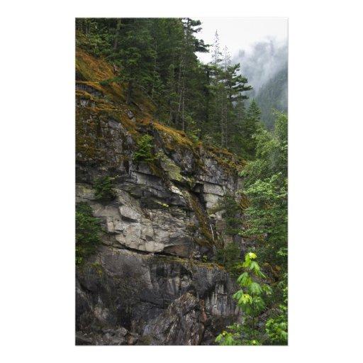 Cascade Cliff Stationery Design