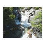 Cascade Falls at Yosemite National Park Canvas Print