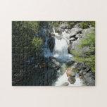 Cascade Falls at Yosemite National Park Jigsaw Puzzle