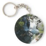 Cascade Falls at Yosemite National Park Keychain