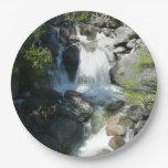 Cascade Falls at Yosemite National Park Paper Plate