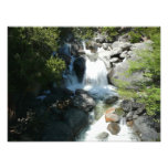 Cascade Falls at Yosemite National Park Photo Print