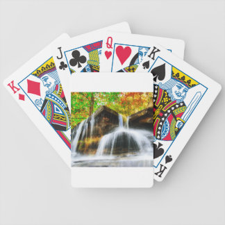 Cascade Falls Bicycle Playing Cards