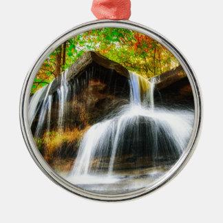 Cascade Falls Metal Ornament