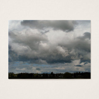 Cascade Foothills And Clouds Business Card