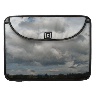 Cascade Foothills And Clouds MacBook Pro Sleeve